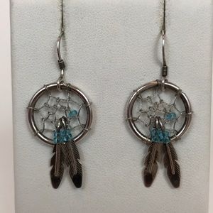 ⚽️⚽️Sterling Silver Dreamcatcher Earrings